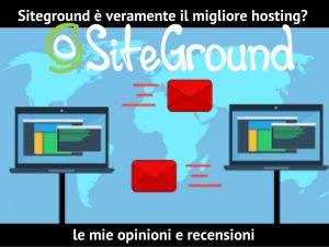 migliore hosting siteground